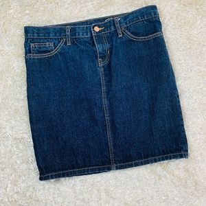Gap Women Size 8 Denim Medium Wash Pencil Skirt